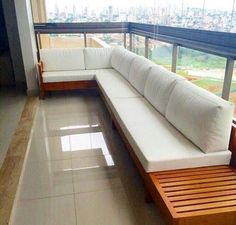 Super Modern and Comfortable Balcony Sofas! Outdoor Furniture Sets, Decor, Furniture, House Design, Terrace Decor, Balcony Furniture, Home, Small Balcony Decor, Outdoor Furniture Plans