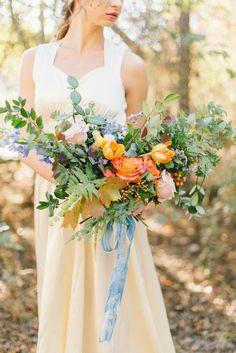 Painterly Inspired Wedding Inspiration