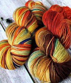 Cashmere Merino Hand Dyed Sock Yarn  115g by photuris on Etsy, $28.75