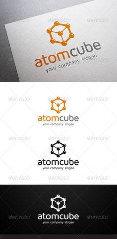 Buy Atom Cube Logo by flatos on GraphicRiver. Description Atom Cube Logo is a multipurpose logo. This logo that can be used by laboratory, etc. Science And Technology, Science Chemistry, Company Slogans, Abstract Logo, 3d Logo, Logo Templates, All The Colors, Cube, Logo Design