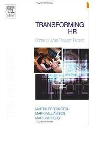 Transforming HR: Creating value through people (The HR Series)http://sapcrmerp.blogspot.com/2012/08/transforming-hr-creating-value-through.html