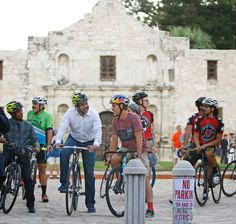 """Nearly 600 cyclists are expected to race in #SanAntonio for the first ever """"Last Stand"""" race"""