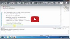 ramram43210,J2EE,Java,java tutorial,java tutorial for beginners,java tutorial for beginners with examples,java programming,java programming tutorial,java video tutorials,java basics,java basic tutorial,java basics for beginners,java interview questions and answers,java basic concepts,java basics tutorial for beginners,java programming language,java io,java io tutorial,file handling in java,file class in java,java file class,file handling