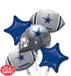 NFL Dallas Cowboys Party Supplies, Decorations & Party Favors - Party City