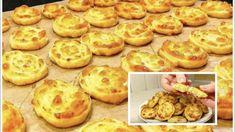 Ak máte doma 1 cibuľu, vajce a kúsok syra, môžete si pripraviť túto pochúťku: Najrýchlejšie a najchutnejšie teplé predjedlo! Muffin, Pizza, Cookies, Breakfast, Desserts, Food, Basket, Biscuits, Morning Coffee