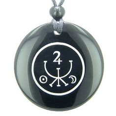 Universe Ancient Money Sigil Talisman Black Onyx Magic Gemstone Circle Spiritual Powers Pendant Necklace Comes with Detailed Information Card and cute Velour PouchGemstone Circle Size: 2 inches Magic Symbols, Ancient Symbols, Wiccan Symbols, Viking Symbols, Egyptian Symbols, Viking Runes, Black Agate, Black Onyx, Money Magic