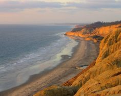Blacks' Beach, San Diego CA... favorite surf spot and premire party beach of the 70s... beware of nude old men