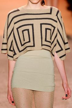 Love the top!!!! qb Jen Kao at New York Spring 2012 (Details)