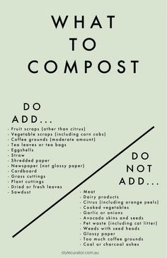 How to in the garden: Composting guide for beginners. What can you put in your compost bin and what should you avoid putting in your compost bin? We share the do and don't list and plenty of other compost tips in this beginners guide.