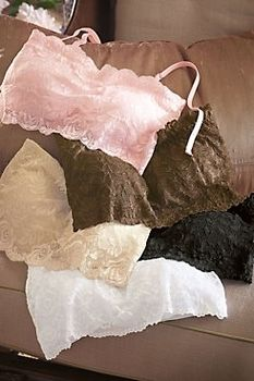 Lace Bra Bandeau in Most Popular Products from Soft Surroundings on shop.CatalogSpree.com, my personal digital mall.