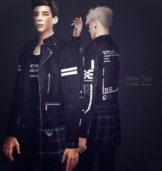 Rider Jacket 9set male at KK Sims • Sims 4 Updates
