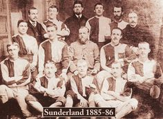 James Allen, a teacher at the Hendon Board School, formed the club with some of his colleagues in 1879 as Sunderland & District Teachers AFC. A year later the club opened its membership to non-teachers and became Sunderland AFC. In 1884 Sunderland won their first trophy, the Durham Senior Cup #safc