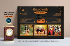 Halloween Mini Session Template Halloween Mini Session, Photography Mini Sessions, Print Release, Photography Marketing, Street Names, Corporate Identity, Print Templates, Professional Photographer, Digital Image