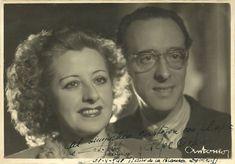 José Orjas y Conchita Sánchez