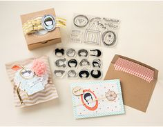 Sweetie Pie Photopolymer Stamp Set - NEW