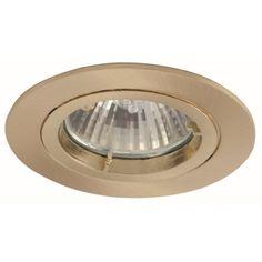 GU10 plafond encastré Downlight Spotlight GU10 fixe ou Tilt DIE CAST Twist Lock