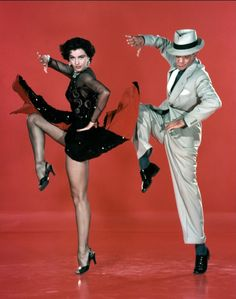 with Cyd Charisse
