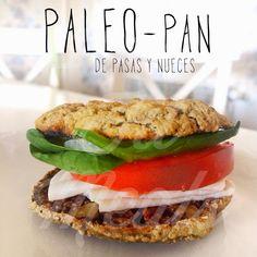 1000 Fit Meals: #91 Paleo-Pan de pasas y nueces (by Diego Jiménez)