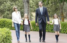 Queens & Princesses - To mark the first anniversary of the reign of King Felipe, the court published photos of private moments of the royal family.
