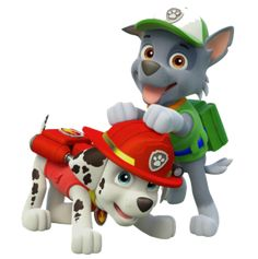 Rocky and marshall! Oh my gosh so dang cute! Paw Patrol Png, Bolo Do Paw Patrol, Paw Patrol Cake Toppers, Cumple Paw Patrol, Paw Patrol Toys, Paw Patrol Party, Paw Patrol Birthday, Coloring Pages For Kids, Coloring Books