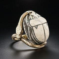Egyptian Scarab ring.