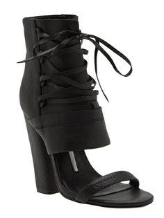 CAMILLA SKOVGAARD - laced sandal boot
