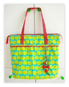 farbenmix Schnittmuster Taschenspieler JOKER Henkeltasche Einkaufsbeutel zum Nähen
