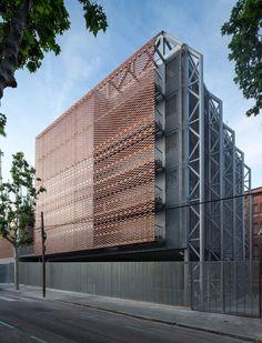 Teresianas School extension, Barcelona, 2014 - PICHARCHITECTS