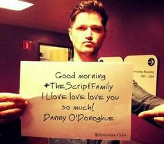 The Script - Danny Love You So Much, My Love, Danny O'donoghue, Irish Boys, The Script, Say More, Music Is Life, Cool Bands, Famous People