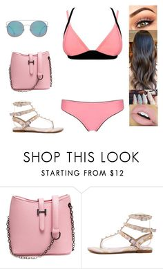 """""""Untitled #4414"""" by sigalv ❤ liked on Polyvore featuring Kylie Cosmetics and MANGO"""