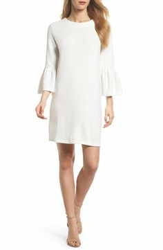 34d46c3fa2 French Connection Paros Sudan Bell Sleeve Shift Dress