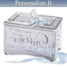 share your love in gleaming style with a custom music box for daughters shop now - Christmas Gifts For Daughter