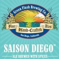 Green Flash Saison Diego: I'm always up for trying more saisons. And Green Flash makes a solid beverage.