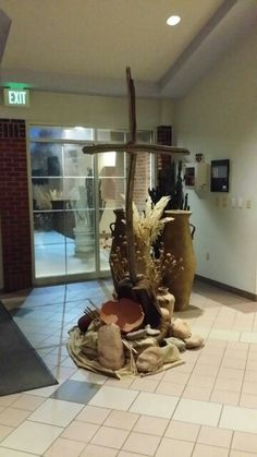 Entry way - Ash Wednesday