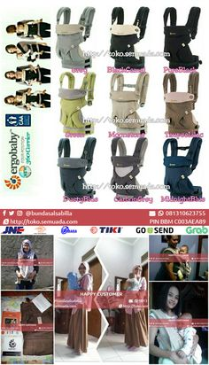 #JUAL #GENDONGAN ERGOBABY 4-POSITION 360 #CARRIERS Harga: Rp. 255,000 Item ID: 3114 sms/whatsapp: 081310623755 PIN BBM: C003AEA89