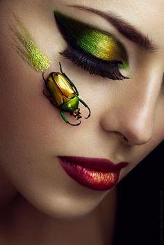 Martin Higgs Photography 2014 Arthropod Beauty Model Egle Standtaite MUA Jia Koriaty Sim & Kay Little Pengy Stefka Pavlova / Retoucher