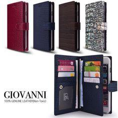 Giovanni Genuine Leather Wallet Case Galaxy Note 5 Case Galaxy S6 Edge Plus Case #Sauvanuel