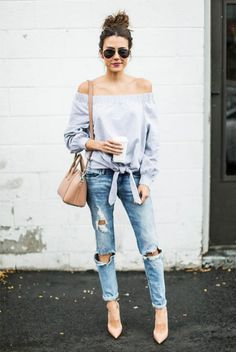 Attractive summer and spring night out outfit 2017 (33)