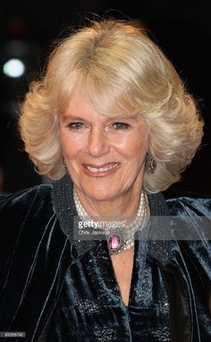 Camilla, Duchess of Cornwall arrives at the Charity Royal Film Performance 2009 of 'The Lovely Bones' at the Odeon Leicester Square on November 24, 2009 in London, England. November 24, 2009| Credit: Chris Jackson