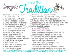 bridal shower traditions and superstitions