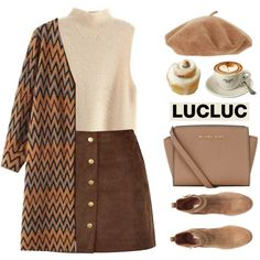 A fashion look from October 2015 featuring H&M ankle booties and MICHAEL Michael Kors messenger bags. Browse and shop related looks.