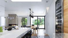 "Villa ""Palma"" | Plans | Проекти будинків House Layout Plans, My House Plans, Family House Plans, House Layouts, Bungalow House Design, Modern Bungalow, Modern House Design, Dream Home Design, Home Interior Design"