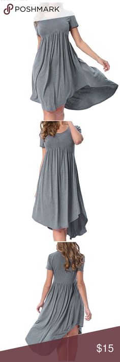 Yidarton Women's Summer Dress Beautiful dress to stay cool in the heat. Still in original packaging!  Color: Grey  Size: XL  ⭐️⭐️Reasonable Offers Welcome⭐️⭐️ Yidarton Dresses