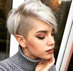Frisuren für Frauen - Kurze Frisuren 2018