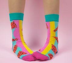 Watermelon socks summer socks socks gift crazy socks for