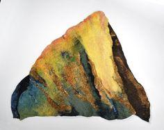 Sharron B. Parker - These pieces are of handmade felt. Gorgeous.