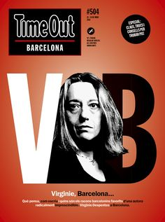 TOB504 May 10 Writer and feminist Virginie Despentes in Barcelona