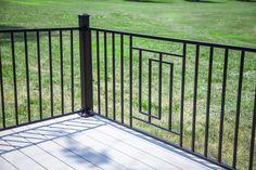 Metal Works Excalibur Steel Railing Line Steel Railing, Metal Railings, Outdoor Living, Outdoor Decor, Bronze Finish, Timeless Fashion, Diys, Exterior, Design
