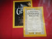 2 National Geographic magazines OLD!!!