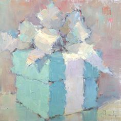 Nancy Franke, Musings on Painting: Gifts,  I Love this painting